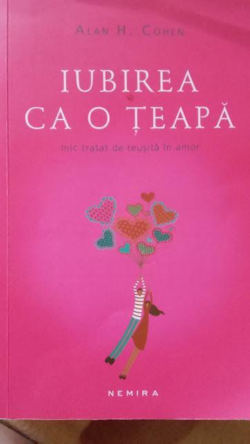 Iubirea ca o teapa... cartea pe care o citesc