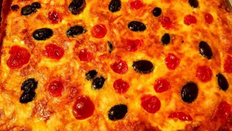 pizza după cuptor