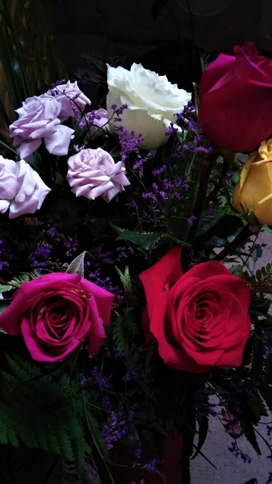 Trandafiri, flori, un braț de trandafiri